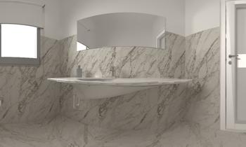 MALEK / Design Yousef Classic Bathroom Zarrugh Company