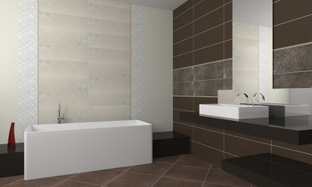 Luce Romantic Bathroom Brennero Ceramiche