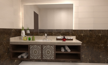 WASH COUNTER MARBLE Classic Bathroom OBEID GENERAL TRADING