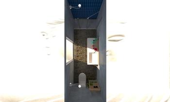 bathe room garage Clasico Baño Diane Ghiller
