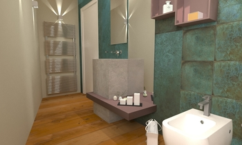 Bagno piano 1 Classic Bathroom Francesco Piovan