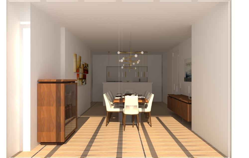 DINING ROOM Modern Kitchen natuzzi italia HoF Guildford