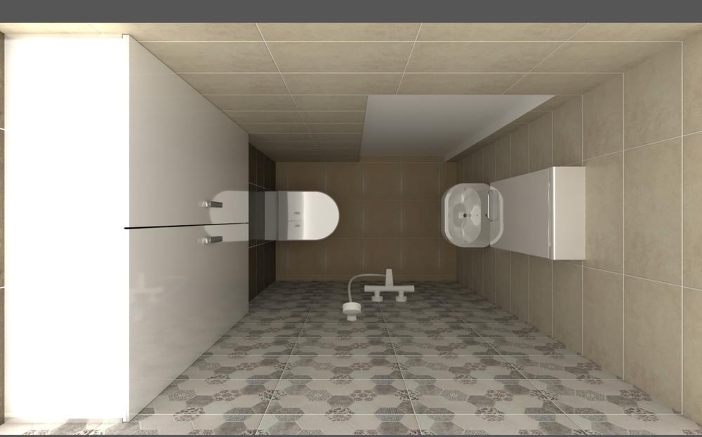 HM Small bathroom Technic... Classic Bathroom Milena Nikova