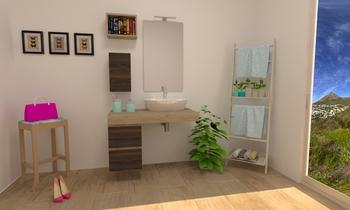 FREEDOM TOP VELETTA Modern Bathroom mauro monti