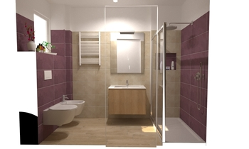 ATLAS CONCORDE FLUX Classic Bathroom Tre P Ceramiche Team Designer Group