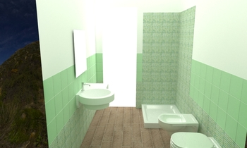 di costanzo Klasický Koupelna tina verde