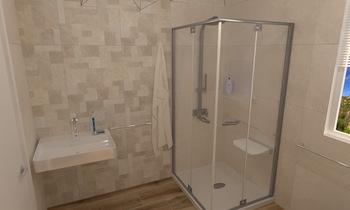 BAGNO DISABILE Classic Bathroom Roberto Laganaro