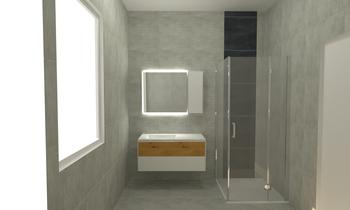 SECCIA bagno grande Modern Bathroom Tommaso Seresi