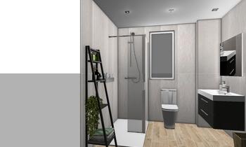 PREOYECTO VARA DE REY 55 Classic Bathroom LAURA PABLO MULERO