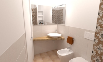 PICCIAFUOCO Modern Bathroom Tommaso Seresi