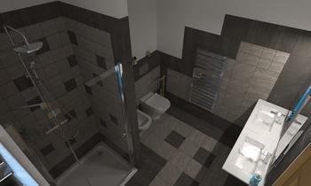 bagno Francia con doccia ... Classic Bathroom Claudio CAIAFFA