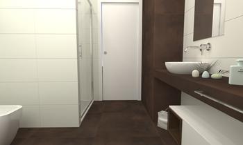 Bagno Grande Contemporary Bathroom Francesco Piovan