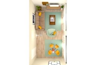 piso villa 4 definitivoE Classic Living room Orballo Decoración