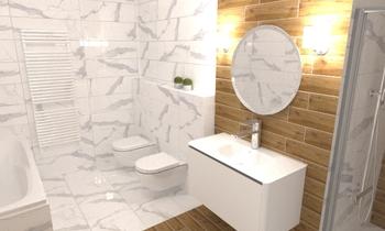 Nagy fürdőszoba Clasico Baño Katinka Veress