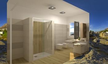 bagno Moderne Badezimmer Pietro Curatolo