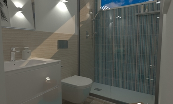 MARAZZI STREAM , LAVANDER... Modern Bathroom Ceramiche Masala sas
