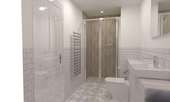 Dunbar E 1 Classic Bathroom tile works design