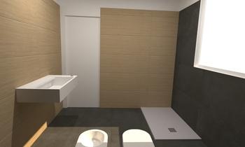 BAGNO PRINCIPALE Modern Bathroom Lo Presti casa arredo