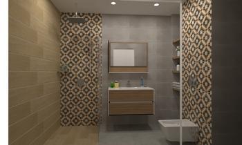 Banya Vilage Soft Grey Klasický Koupelna Mladen Popov