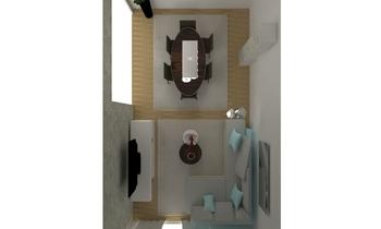 piso avintia bajo b Classic Living room Orballo Decoración