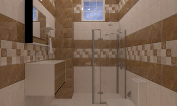 احمد ابرهيم Classic Bathroom Ahmed homestyle