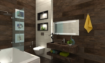 weman bathroom Modern Bathroom Zarrugh Company