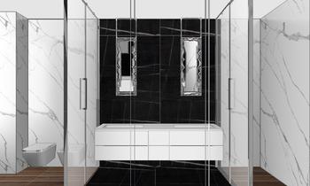 marco bagno camera Klasický Koupelna Elisa Filippini