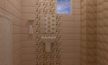 احمد ببرهيم Classic Bathroom Ahmed homestyle