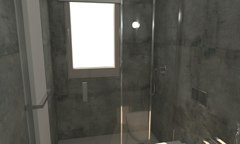 268 Contemporary Bathroom LONGO SRL Superfici & Arredo