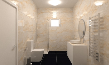 Project 12 Classic Bathroom chris gardi
