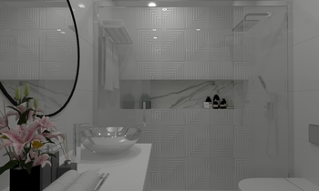 JG Contemporary Bathroom Aurum  Construcciones