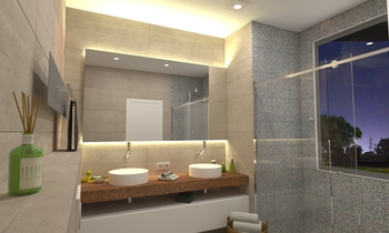 Clive Bendinat Modern Bathroom Marcos  Reyes Jones