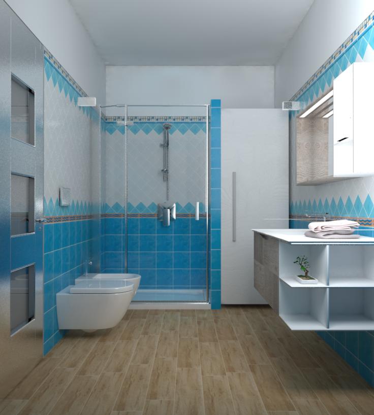 Piastrelle Bagno Turchese ~ Idea Creativa Della Casa e Dell ...