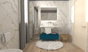 marble bathroom Classic Bathroom GREGOLO SRL