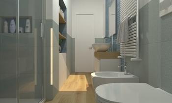 1 Moderní Koupelna De Gregoris -  Dove Nasce Casa