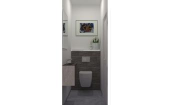 WC REZ PARTIE PROFESSIONN... Classic Bathroom Sophie Podevyn