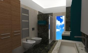 Perri Contemporary Bathroom francesco alfano