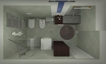 GRASSI Současný Koupelna Sara Carbonetti