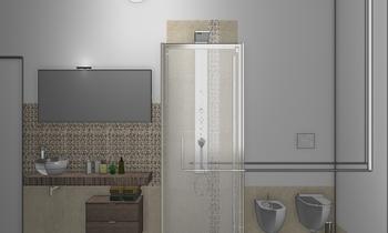 bagno 5,35 x 1,80 Adria Classic Bathroom Giulietta Tiengo