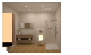 montse y juan Classic Bathroom CREA design & home ibiza