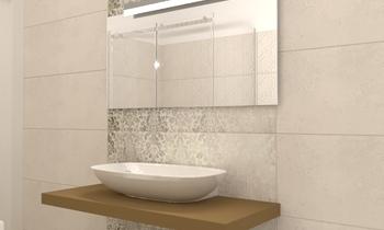 Bagno grande 1°PIANO Contemporary Bathroom Beatrice Dolcetti