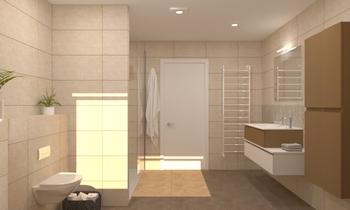 T palm Jacquemart-Jenard ... Klasický Koupelna Anouck Scraeyen