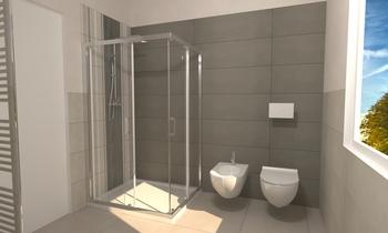 Bagno officina 7 Contemporary Bathroom Thomas Venturini