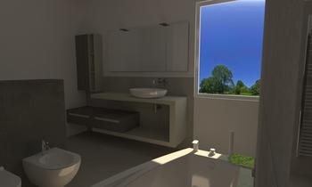Bagno Serie Plaster Contemporary Bathroom Thomas Venturini