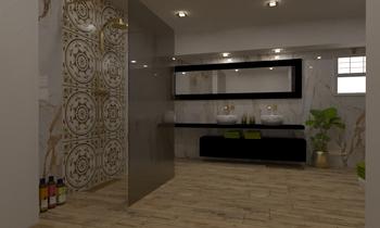 Диана Иванова Modern Bathroom Vesela Neshkova