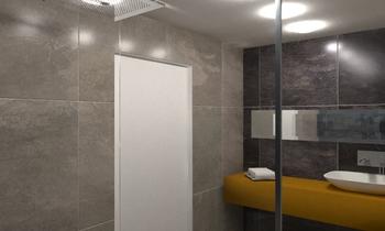 Highdown- Loft bathroom Klassiker Badezimmer Ferreira's Architectural Surfaces