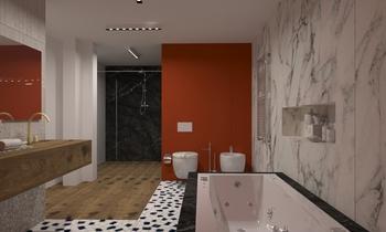 Marazzi Moderne Salle de bain Donart Sahiti