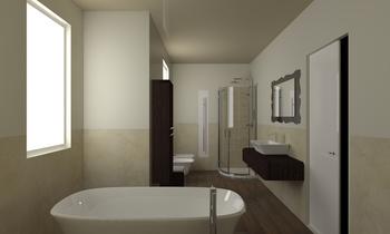 Green restroom Classic Bathroom Vives Azulejos y Gres