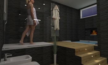 salemi Modern Bathroom ceramiche  2s