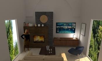 ALESSANDRO CAMINO Classic Living room Giuseppe Politi